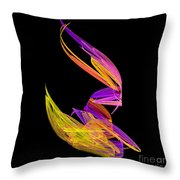 Abstract Fifty-four Throw Pillow