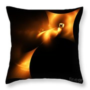 Abstract Fifty Throw Pillow