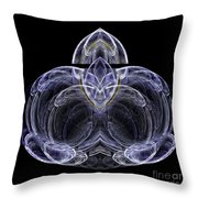 Abstract Fifty-seven Throw Pillow