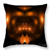 Abstract Fifty-two Throw Pillow