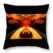 Abstract Five Throw Pillow
