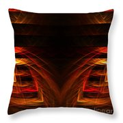Abstract Forty-eight Throw Pillow