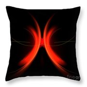 Abstract Forty-five Throw Pillow