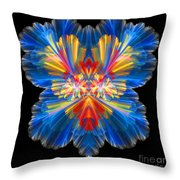 Abstract Forty-nine Throw Pillow