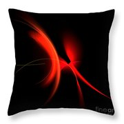 Abstract Forty-six Throw Pillow