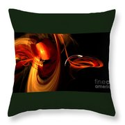 Abstract Four Throw Pillow