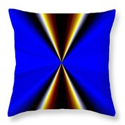 Abstract Fusion 60 Throw Pillow