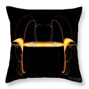 Abstract Nine Throw Pillow