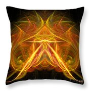 Abstract Ninety-eight Throw Pillow