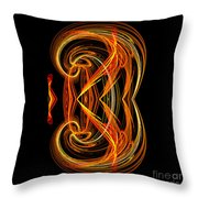 Abstract Ninety-one Throw Pillow