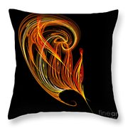 Abstract Ninety-three Throw Pillow
