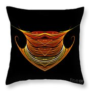 Abstract Ninety-two Throw Pillow