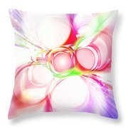 Abstract Of Circle  Throw Pillow