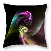 Abstract Seventy Throw Pillow