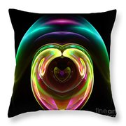 Abstract Seventy-one Throw Pillow