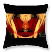 Abstract Six Throw Pillow