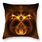 Abstract Sixty-five Throw Pillow