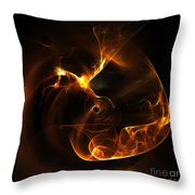 Abstract Sixty-nine Throw Pillow
