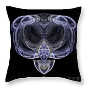 Abstract Sixty-one Throw Pillow