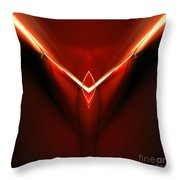 Abstract Sixty-three Throw Pillow