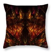 Abstract Thirty-nine Throw Pillow
