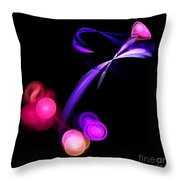 Abstract Twelve Throw Pillow