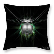 Abstract Twenty-eight Throw Pillow