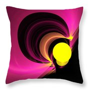 Abstract Twenty-four Throw Pillow