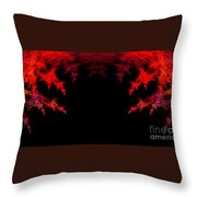 Abstract Twenty-seven Throw Pillow