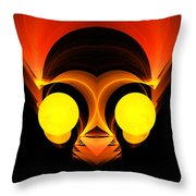 Abstract Twenty-six Throw Pillow