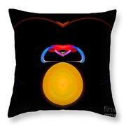 Abstract Twenty-three Throw Pillow