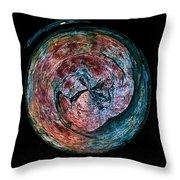 Abstracts From Varikallio At Hossa Throw Pillow