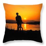 Achill Island, Co Mayo, Ireland Throw Pillow
