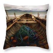 Achill Island, County Mayo, Ireland Throw Pillow