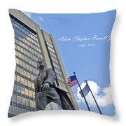 Adam Clayton Powell Jr Throw Pillow