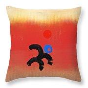 African Figure Throw Pillow