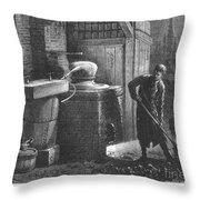 Alcohol: Distillation Throw Pillow