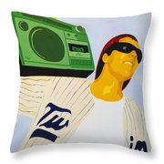 Alex Throw Pillow by Michael Ringwalt
