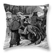 Alexander II (1818-1881) Throw Pillow