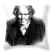 Alexander Monro IIi, Scottish Anatomist Throw Pillow