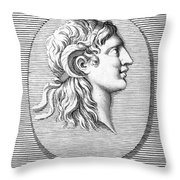 Alexander The Great (356-323 B.c.) Throw Pillow by Granger