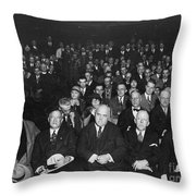 Alfred Emanuel Smith Throw Pillow