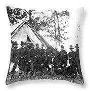 Ambrose E. Burnside Throw Pillow
