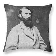 Ambrose P. Hill (1825-1865) Throw Pillow