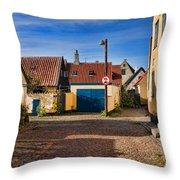 An Alley In Dragoer Throw Pillow