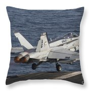 An Fa-18c Hornet Taking Throw Pillow