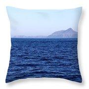 Anacapa Island Throw Pillow