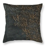 Ancient Fossils Throw Pillow