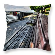 And Yet Still I Wait Throw Pillow