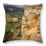 Andalusia Landscape Throw Pillow